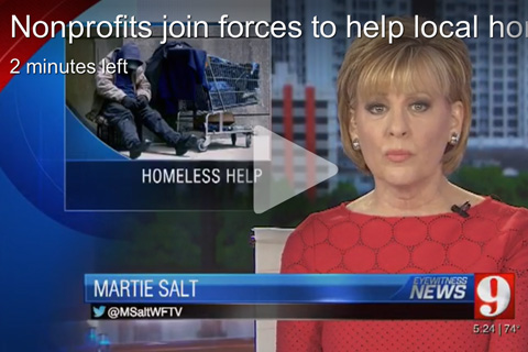 Nonprofits join forces to help local homeless