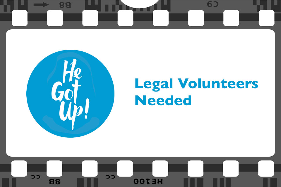 Legal Volunteers Needed