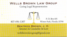 Wells Brown Law Group
